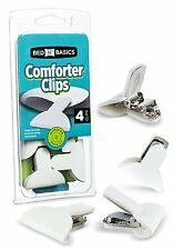 Padded Comforter & Duvet Clips - 4 Pack - by Bed N' Basics