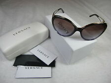 Versace Sunglasses VE 4233 500768 Brown Green Gradient, Cats Eyes Sunglasses