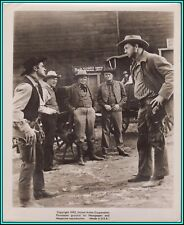 "ROD TAYLOR & STERLING HAYDEN in ""Top Gun"" - Original Vintage Photo - 1955"