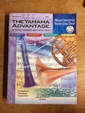 The Yamaha Advantage Conductor's Score Book 1 W/ CD PB LN