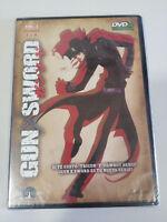 Gun Sword Vol 1 Episodi 1-4 DVD Slim + Extra Manica Spagnolo Giapponese Nuovo
