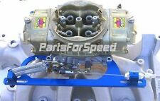 AED 6602B Holley Morse Throttle Cable Bracket Kit with Return Springs Blue