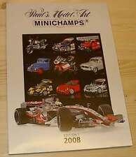 Katalog Minichamps 2008 Edition 1 - Neu