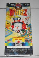 Gioco Pc Cd WHIZZ – NUOVO 1995 Box Jackson Libri Big Games Piattaforme