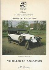 Catalogue de vente AUTOMOBILE DE COLLECTION ANCIENNE MERCEDES 300 SL 1988