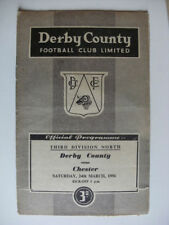 Division 3 Teams C-E Derby County Football Programmes