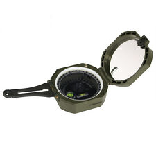 Pocket Compass Transit Military Lensatic Sight Waterproof for Outdoor Survival
