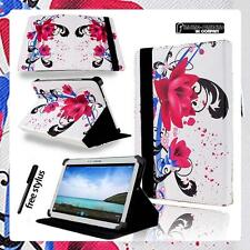 New Folio Stand Leather Cover Case For Samsung Galaxy Tab 2/3/4 Tablet + STYLUS