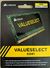 Laptop Memory CORSAIR 512MB DDR1 SO-DIMM 333 PC 2700 200-Pin sodimm VS512SDS333