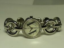 ARMANI EXCHANGE LADIES LUXURY BANGLE AND CRYSTALS WATCH AX4100