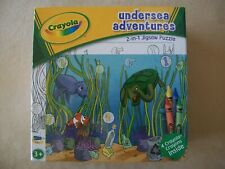 Crayola Undersea Adventures 2-In-1 Jigsaw 24 Piece Puzzle & Crayons, Gar1