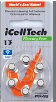 iCell Tech Size 13 Hearing Aid Batteries (30 batteries)