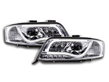 Audi A6 C5 /4B 2001-2004 Chrome LED DRL Daylight Running Headlights RHD FREE P&P