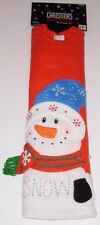 Christmas Tree Skirt 48 inches The Christmas Shoppe Snowman, Nwt