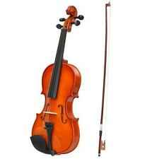 Acoustic Violin 4/4 Full Size with Case and Bow Rosin Wood