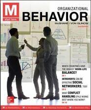 M : Organizational Behavior by Mcshane and Von Glinow (2015, Paperback)