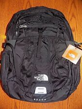 "NWT The North Face Women's Recon Backpack Daypack TNF BLACK  15"" LAPTOP BAG"