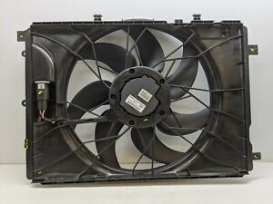 USED OEM GENUINE MERCEDES BENZ COOLING FAN ASSEMBLY A2049066802