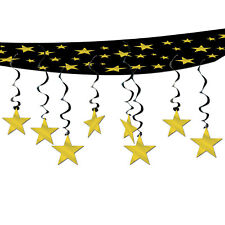 THE STARS ARE OUT ONE PIECE CEILING DECORATION WITH STAR WHIRLS