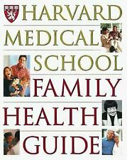 NEW Book Hardcover Harvard Medical School Family Health Guide Hardcover W Dust