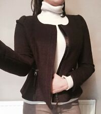 Next Brown Smart Jacket Coat Blazer / Size 10 / New rrp  £55