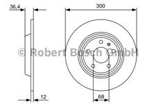 Bremsscheibe (2 Stück) - Bosch 0 986 479 382