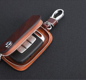 Zipper Car Key Case Porsche Audi BMW Bentley Mercedes Jeep Subaru Land Rover