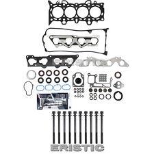 01-05 HONDA CIVIC EX HX HEAD GASKET SET W/ HEAD BOLTS + SEALANT D17A2 D17A VTEC