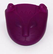 Universal Silicone Oven Mitt / Pot Holder / (Heat Resistant) - Kitten - Purple