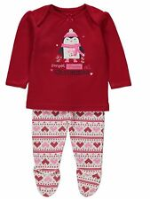 George 100% Cotton Sleepwear (0-24 Months) for Girls
