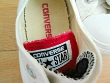CONVERSE TRAINERS ALL STAR SIZE 6 EU 39 WHITE LADIES GIRLS PINK GREY SHOES