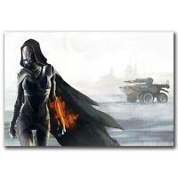 """Mass Effect 4 Tali Zorah Video Game Pop Art Hot 12x18 24x36"""" FABRIC Poster N3454"""