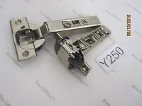 2 Blum 110 Degree Straight Arm Clip Top Blumotion Overlay Screw-On Self Closing