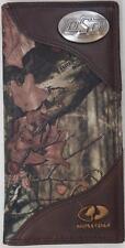 ZEP-PRO OSU COWBOYS Leather MOSSY OAK Camo Wallet BURLAP GIFT BAG Oklahoma State