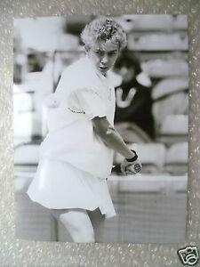Tennis Press Photo- JULIE SALMON- British Player