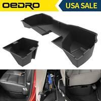 OEDRO PP Underseat Storage Box for 2014-2018 Silverado/Sierra 1500 Double Cab