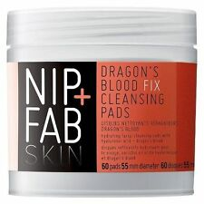 Dragons Blood Fix Pads Fab Smoother and Refreshed Skin Deep Cleanse 80 Ml