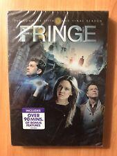 Fringe: Season 5 (DVD, 2013, 4-Disc Set) Sealed New sealed , Free Shipping