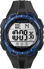Timex Tw5K94700, Men's Marathon Black Resin Watch, Indiglo, Day/Date, Alarm