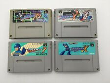 SNES Megaman 7 X X2 X3 Rockman 4Set SFC Super Famicom NTSC-J japan Import #218