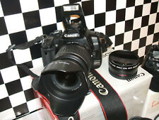 Canon EOS 400D /  10.1 MP Digital SLR Camera - BlackWITH THREE LENSES..