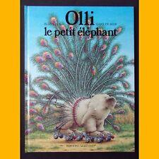 OLLI LE PETIT ÉLÉPHANT Burny Bos Hans de Beer 1989