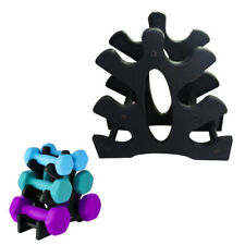 3-Tier Hand Weight Dumbbell Storage Holder Tree Rack Weight Stand Organizer