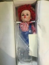 Set of 2 Marie Osmond Dolls - Mopsy and Rags - in Original Boxes
