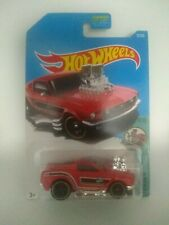 2017 Hot Wheels Tooned '68 Mustang Red #27