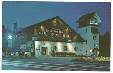 Frankenmuth Bavarian Inn Michigan MI Night View Post Card Hotel Motel