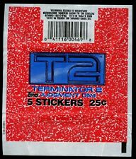 T2 Terminator 2, Topps Trading Cards Wrapper #W47