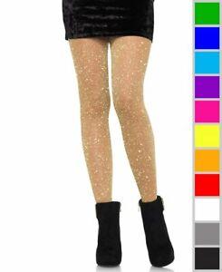New Leg Avenue 7130 Lurex Sheer Pantyhose