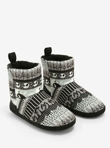 The Nightmare Before Christmas Womens Jack Slipper Boots Boot Slippers New XS,S