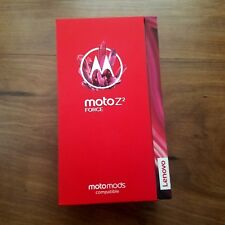Motorola Moto Z2 Force 2nd Edition 64GB Lunar Gray T-Mobile GSM Unlocked